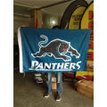 Advertising Durable 110g Knitted Polyester Flag