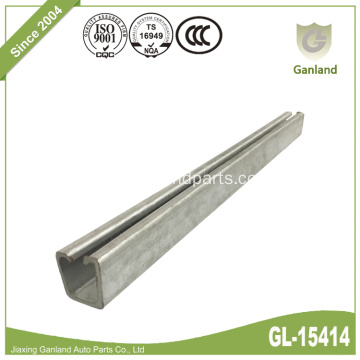 Galvanized Steel Sliding Curtain Track Rail For Side