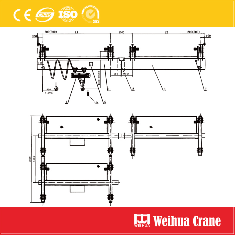 cross-track-suspension-crane-drawing