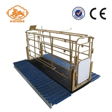 Best Quality for Steel Solid Rod Farrowing Stalls Automatic Welding Solid Rod Pig Pens For Sale supply to Chile Factory