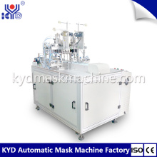 2D fish type folding mask earloop welding machine