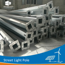 DELIGHT Q235 Round 3M Grey Aluminum Light Pole