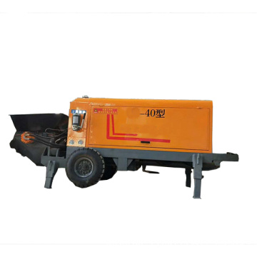 Small portable remote control for concrete boom pump