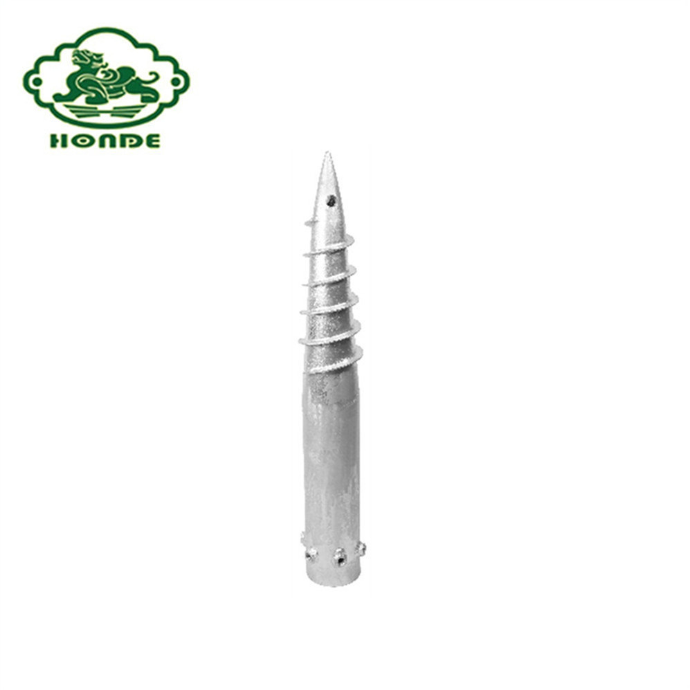 Good Price High Quality Post Ground Screw Anchor