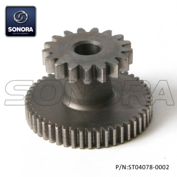 152QMI GY6 125 Electric Starter Slowdown Gear (P/N:ST04078-0002) Longjia Jonway Wangye Znen Original Quality