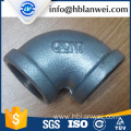 Hot dipped galvanized malleable iron pipe fittings