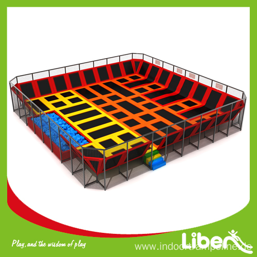 Skyzone bed trampoline for sale