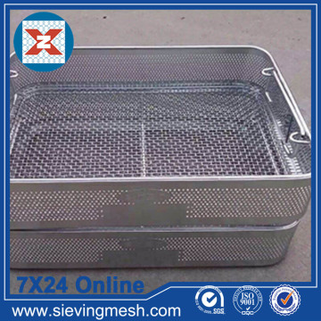 Good Quality for China Storage Basket,Metal Wire Baskets,Wire Mesh Baskets ,Small Wire Baskets Manufacturer Disinfect Metal Mesh Basket export to Haiti Manufacturer