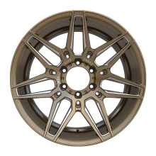 Alloy Pickup Wheel 6X139.7 Bronze Milled