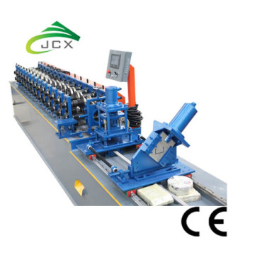 Drywall partiton stud and track machine