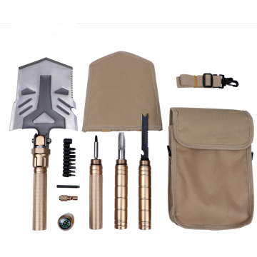 Portable Folding Outdoor Survival Shovel