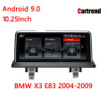 BMW X3 E83 10.25 Android Touch Screen