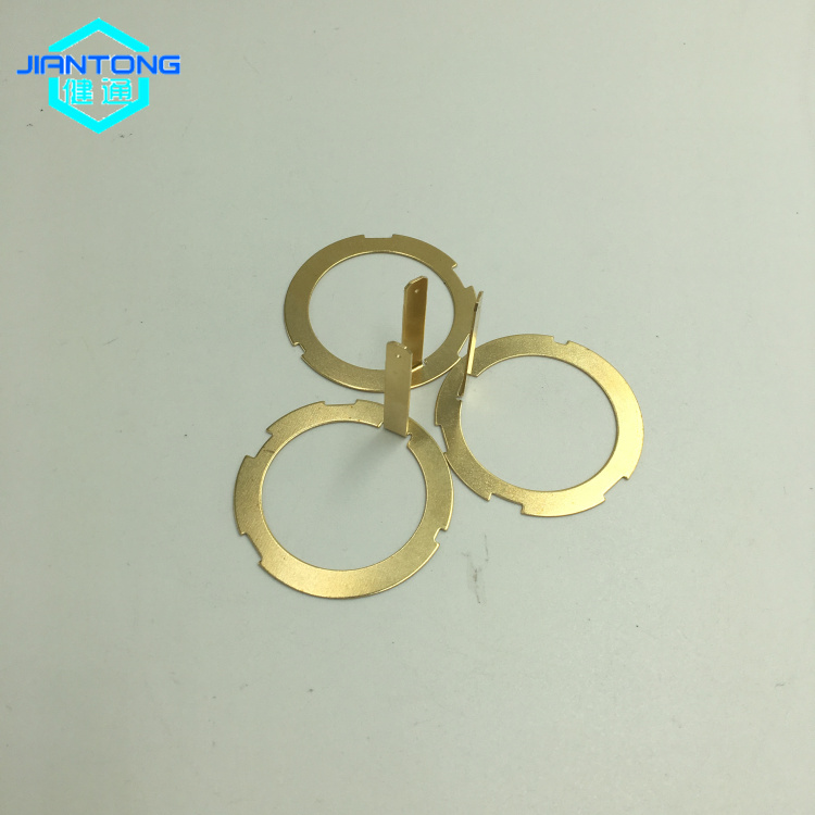 Metal Pressing Brass contact Brass Stamped Parts