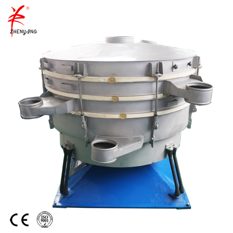 Capacity maximum powder vibrating tumbler screening machine