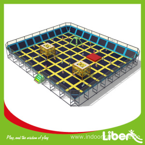 Online Manufacturer for Indoor Trampoline Park Large indoor pure fun trampoline export to Sudan Manufacturer