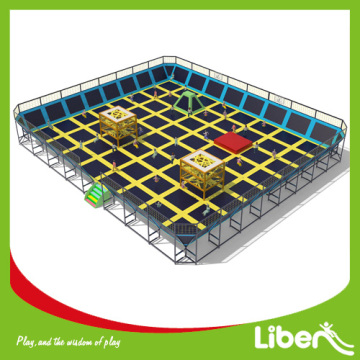 Amusement park Equipment best fitness trampoline