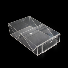 Custom sizes clear acrylic display case box