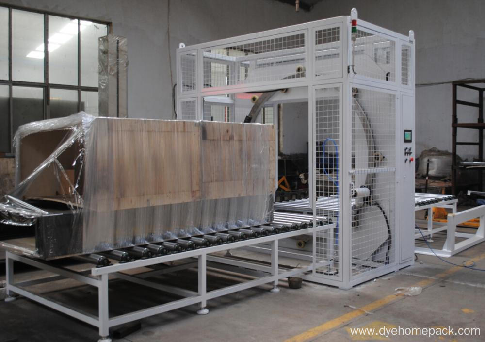 horizontal stretch wrapping machine with CE certificate