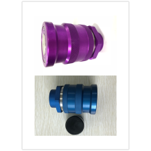 Purple FF0B Female ISO16028 Quick Coupling