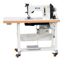 Flat Bed Double Needle Moccasin Stitch Shoes Sewing Machine
