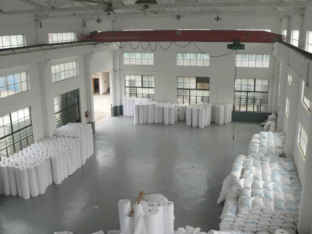 Disposable white PP non woven fabric