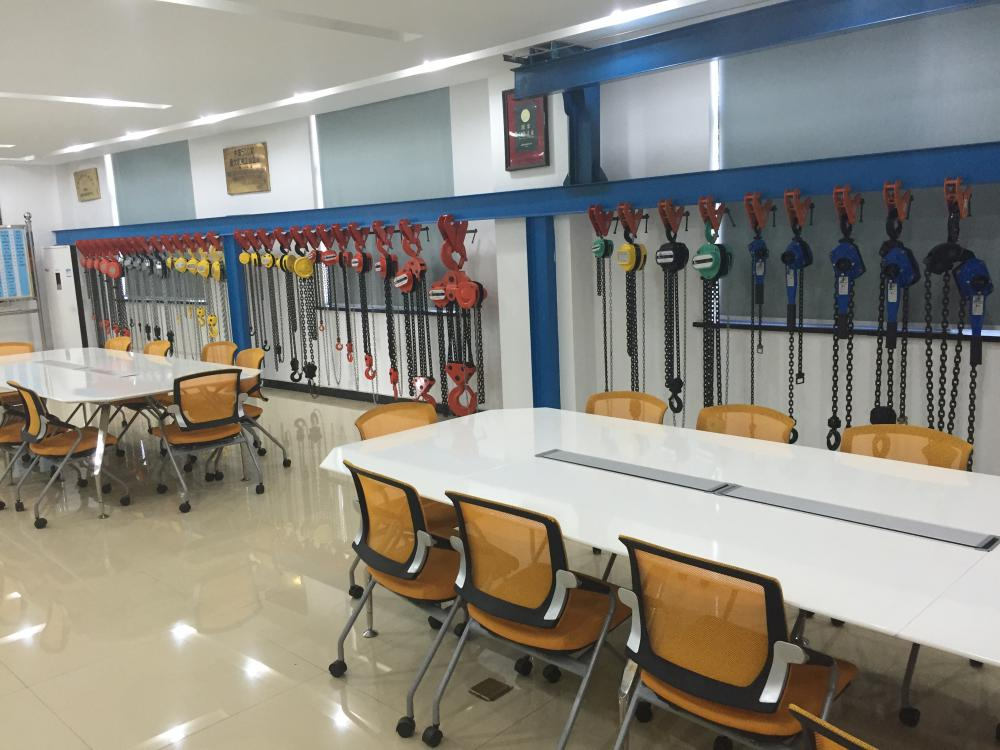 Lever Chain Hoist sample room