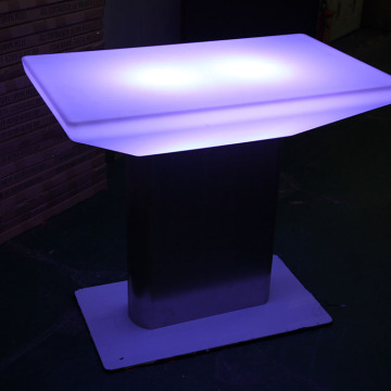 Promotional High Top Glowing Nightclub Led Bar Table