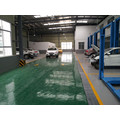 Factory garage liquid epoxy floor paint