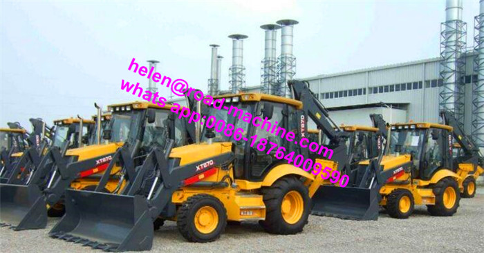 XCMG XT870H Mini Backhoe Loader With CE