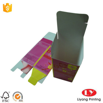 Full color paper gift box packaging custom