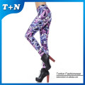 Custom printed tights girls full body leggings