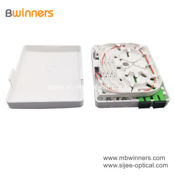 Factory 2 Port Fiber Optic Wall Socket Panel Mini Distribution Terminal Box