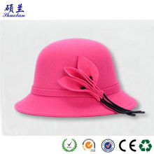 High quality fashion customized felt hat bodies