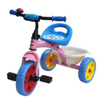 Children Pedal Trike with Push Handle
