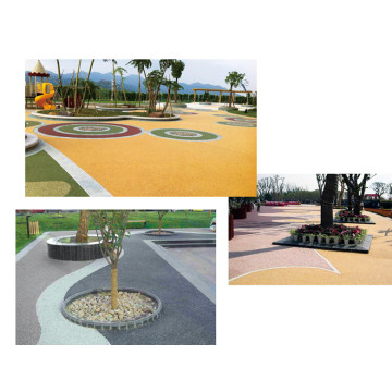 Eco-Friendly  Synthetic Water-based runway top coat  Courts Sports Surface Flooring Athletic Running Track