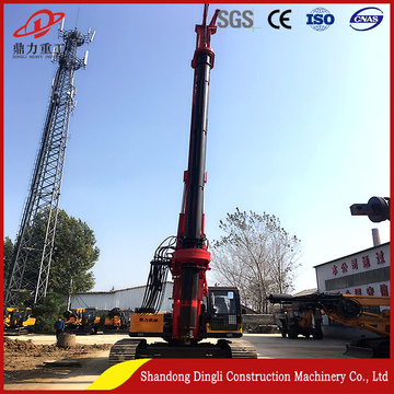 drilling rig with power head torque of 120
