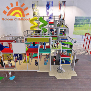 Children Large Indoor Playground Equipment On Sale