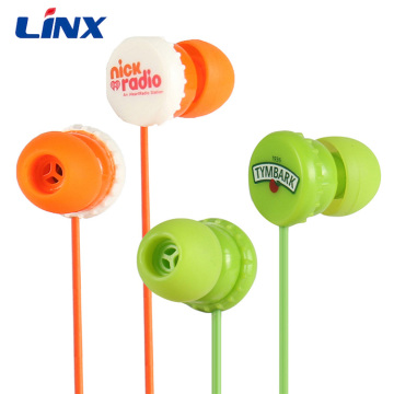 Promotional Wired Headset Accept Custom LOGO Earbuds