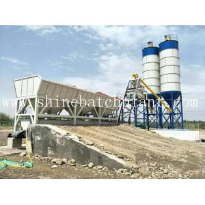 CE Certified Stationary Concrete Batching Plant