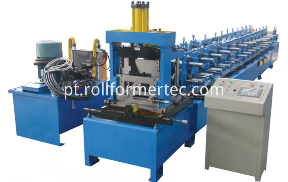 CZ purline roll forming machine