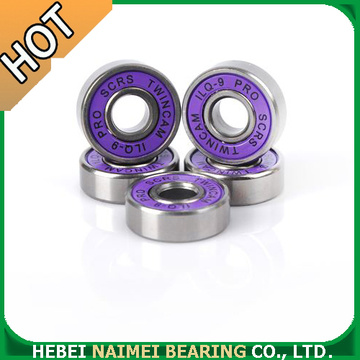 608 8x22x7mm black ring steel bearing