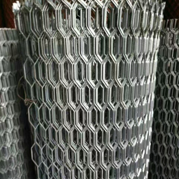 Decorative Aluminum Expanded Metal Mesh Panels