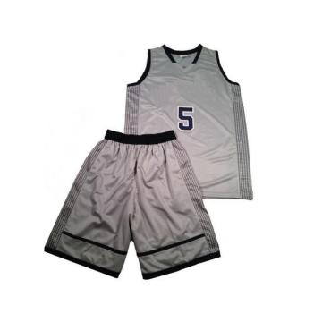 100% Polyester Custom Sublimated V-Neck Basketball Jersey / Shirt