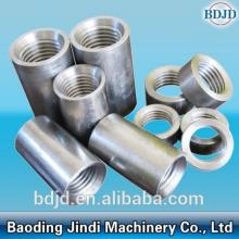 High Permance for Customized Cylindrical Rebar Coupler Steel Threaded Rebar Jointing Coupler Sleeve supply to United States Factories