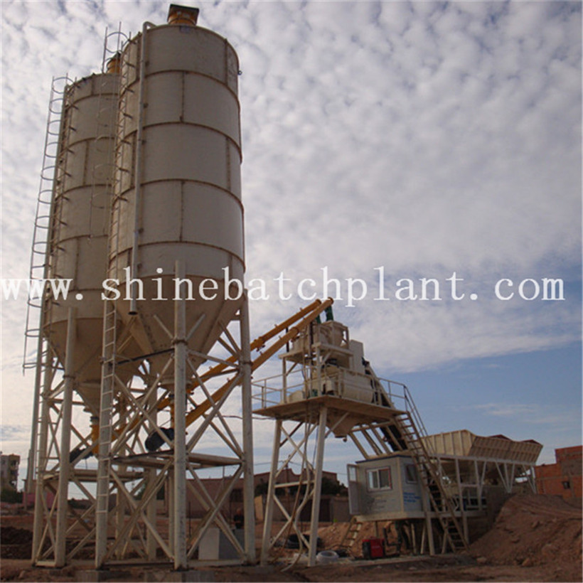 40 Ready Mixer Concrete Batching Plant Of Mobile