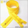 hot sale ordinary teeth nylon yellow zipper