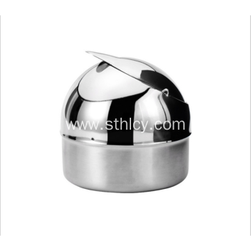 Stainless Steel Car Anti - Wind Ashtray