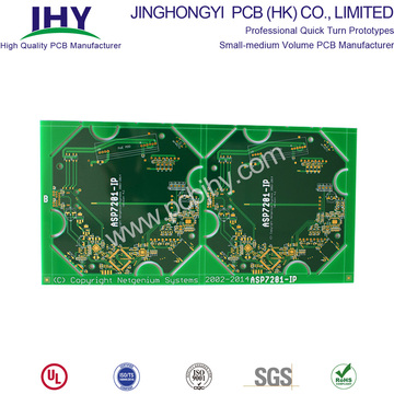 4 Layer Rigid PCB Prototype Immersion Gold Surface PCB Manufacturing