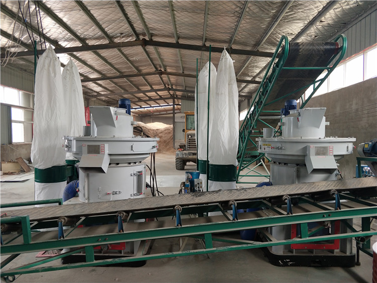 Wheat straw pellet press machine