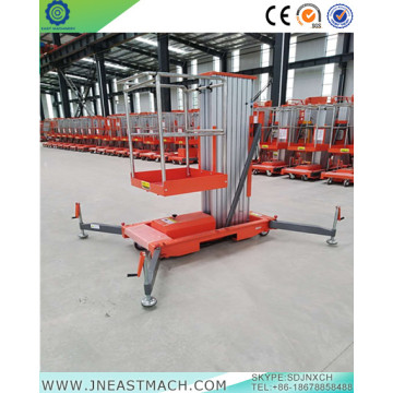 10m Single Masts Aluminum Vertical Lift One Person